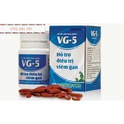 Viên bổ gan - hỗ trợ điều trị viêm gan VG 5