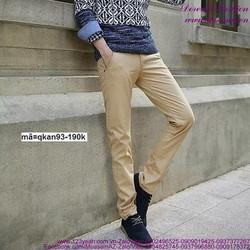 Quần kaki nam phong cách Hàn Quốc trẻ trung sành điệu QKAN93