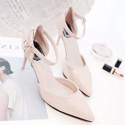 Giày cao gót nữ quai cài thời trang - LN1146