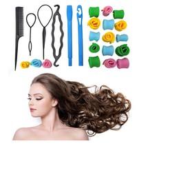 Bộ uốn tóc không nhiệt Magic Roller và 4 dụng cụ tạo kiểu