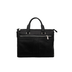Túi xách nam da bò thật cao cấp ELMI màu đen ETM768