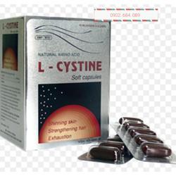 Viên  hỗ trợ đẹp da tóc móng  Lcystine - L cystine