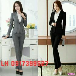 Bộ vest công sở thời trang Hàn QUốc mới L12A230