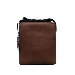 Túi đeo chéo nam da bò thật cao cấp ELMI màu nâu ETM775