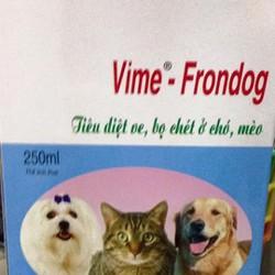 dung dịch xịt ngăn ngừa loại bỏ ký sinh trùng Vime VIME-FRONDOG