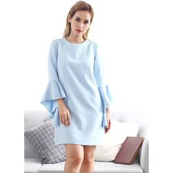 Đầm Suông Tay Loe Đơn Giản - DXM546