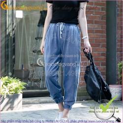 quần alibaba nữ jean denim co giãn GLQ014