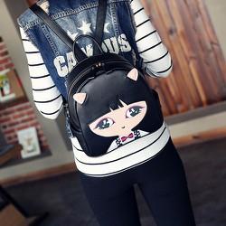 Balo nữ hình cô gái thời trang - LN1152