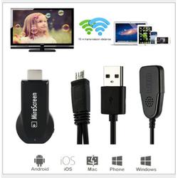 HDMI WIFI MIRASCREEN KẾT NỐI ĐT LÊN TV - MIRASCREEN