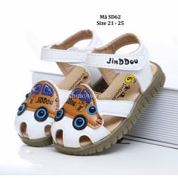 Sandal bé trai 1 - 3 tuổi SD62 kiểu dáng ô tô ngộ nghĩnh