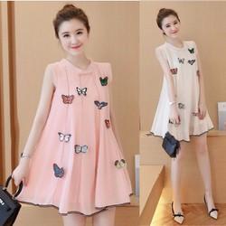 Đầm suông Oversize dành cho các mẹ bầu