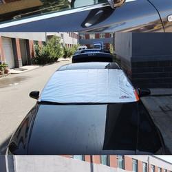 Bạt chống nóng kính lái xe ô tô