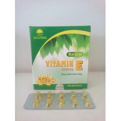 Vitamin E 400 iu Nature bổ sung vitamin E tổng hợp