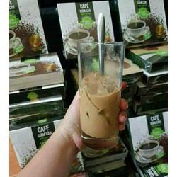 giảm cân cà phê nấm linh chi