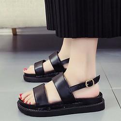 Giày Sandal Nữ phong cách dễ thương thời trang Hàn Quốc - SG0392