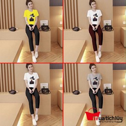 MTL - Bộ đồ dài Mickey