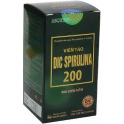 Viên Tảo DIC SPIRULINA 200, làm chậm lão hóa cơ thể
