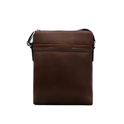 Túi đeo chéo nam da bò thật cao cấp ELMI màu nâu bò ETM779