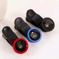 Lens chụp ảnh điện thoại Macro - Wide Fisheye