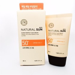 Kem chống nắng Thefaceshop Natural Sun Eco Super Perfect SPF50+
