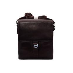 Túi đeo chéo nam da bò thật cao cấp ELMI màu nâu ETM783