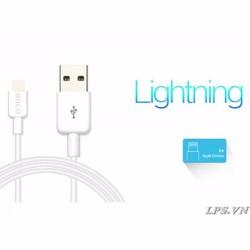 Cáp hiệu Hoco cổng Lightning iPhone 5-5s-6-6Plus-iPad dài 1,2 mét