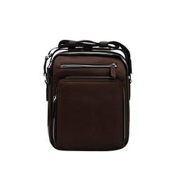 Túi đeo chéo nam da bò thật cao cấp ELMI màu nâu bò ETM780