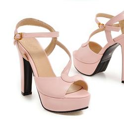 Giày cao gót nữ xinh phong cách Hàn Quốc