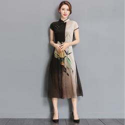 Đầm suông dáng dài cực đẹp NS599