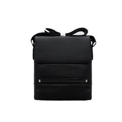 Túi đeo chéo nam da bò thật cao cấp ELMI màu đen ETM784