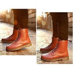Giày da boot cao cổ nam