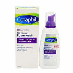 Sữa rửa mặt giảm dầu, ngăn ngừa mụn 235ml - Cetaphil