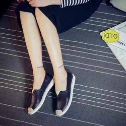giày tôm mũi vá cói v nhẹ nhành đến từng bước chân