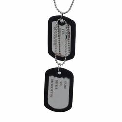 Dây chuyền thẻ bài dogtag quân đội - DN97