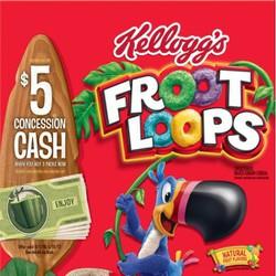 Ngũ cốc ăn sáng Kellogg Froot Loops 260g