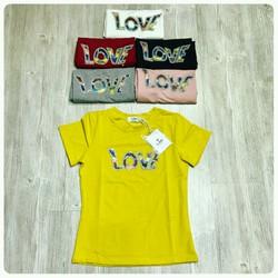 Áo pull Z-one logo chữ Love đính đá nổi