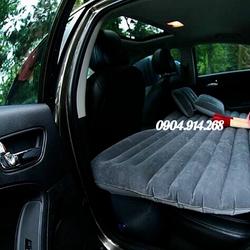 Đệm hơi ô tô, giường hơi ô tô chất liệu vải nhung chân tháo rời