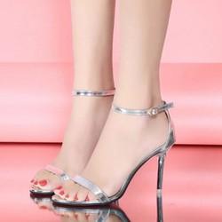 Giày Sandal cao gót quai ngang