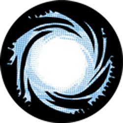 Kính Giãn Tròng Angel Eyes - Spiral Blue