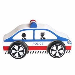 Xe mô hình bằng gỗ - Xe Cảnh sát