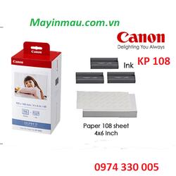 Giấy ảnh KP 108 dùng cho dòng máy in ảnh mini CP và CP 1000,1200