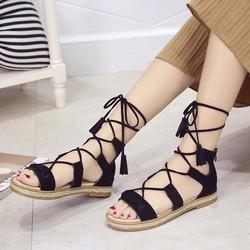 Giày Sandal Nữ phong cách cá tính thời trang Hàn Quốc 2017 - SG0394