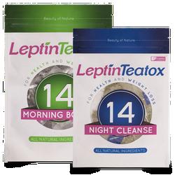 Trà giảm cân Leptin Teatox 14 ngày đêm