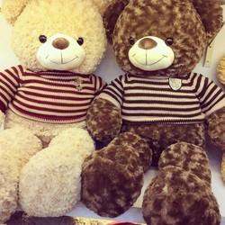 Gấu Bông Teddy Áo Len 1m2 - HÀNG Nhập Khẩu - GB005