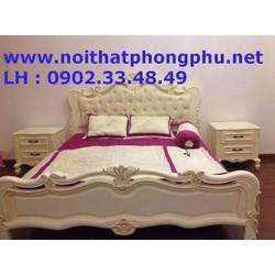 Bộ giường ngủ cổ điển giá chỉ 32 triệu