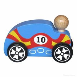 Xe mô hình bằng gỗ - Xe đua cổ