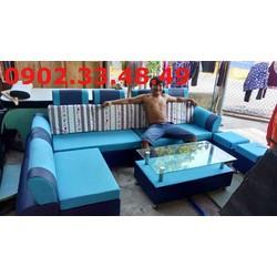Trọn bộ sofa phòng khách gồm 4 món giá chỉ 6,8 triệu