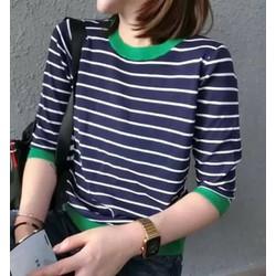 áo sọc tay dài hàng Quảng Châu