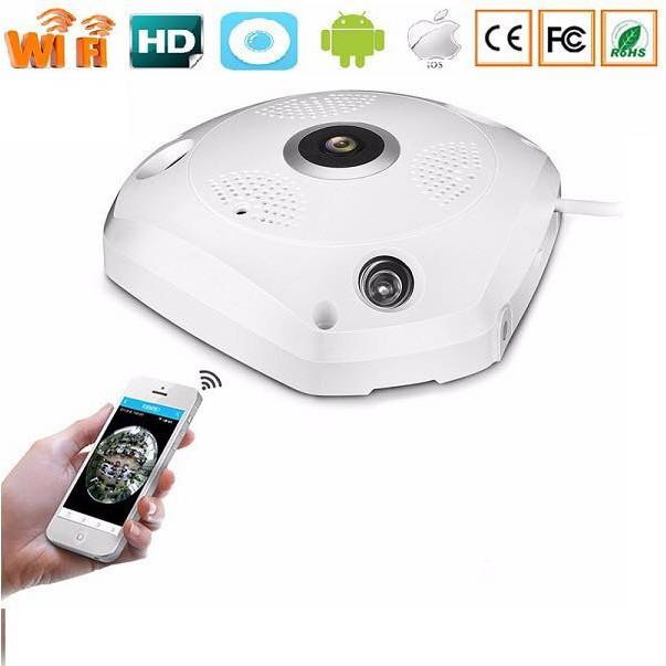 Camera IP VR-CAM 3D XOAY 360 ĐỘ 4