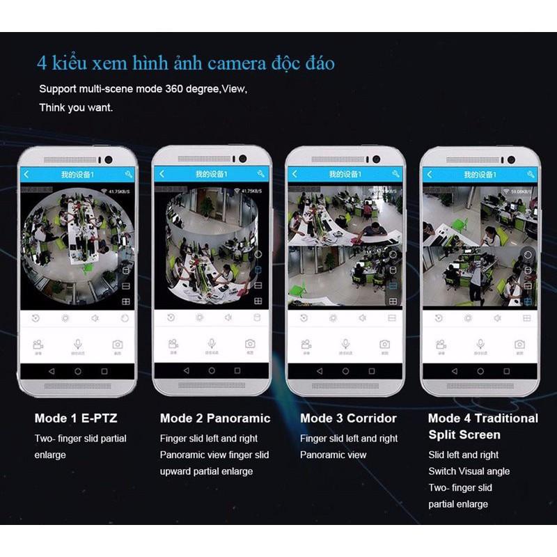Camera IP VR-CAM 3D XOAY 360 ĐỘ 7